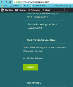 "Click on the ""FOLLOW"" button to be notified when we update our blog!"